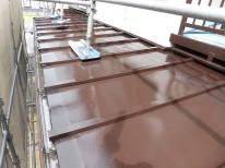 トタン屋根施工完了