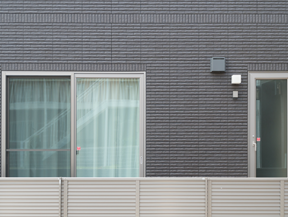 外壁の模様を刷新