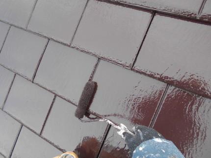セメント瓦屋根の塗装について